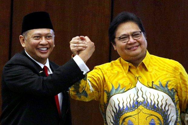 Golkar, Bambang Soesatyo, Airlangga Hartarto.