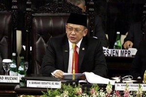 Sidang Pemilihan Ketua MPR