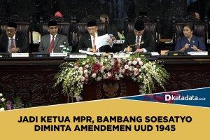 Bambang Soesatyo ketua MPR