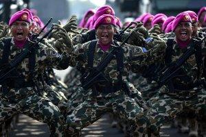 Gladi Bersih HUT TNI ke-74
