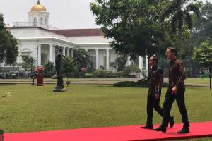 Jokowi bertemu dengan Perdana Menteri Belanda di Istana Bogor. Pada pertemuan hari ini, keduanya akan melakukan sejumlah agenda dan pembicaraan, salah