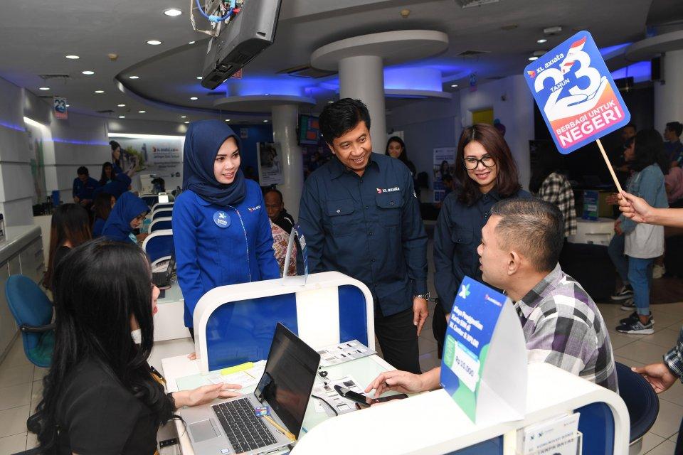 XL Axiata bekerja sama dengan Huawei untuk mengembangkan jaringan 5G di Indonesia.