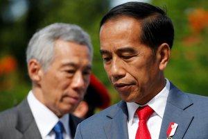 Presiden Jokowi dan PM Singapura