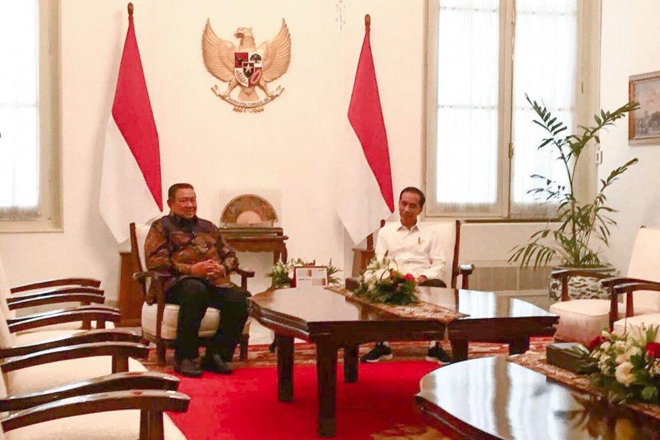 Jokowi bertemu SBY, koalisi Jokowi-SBY