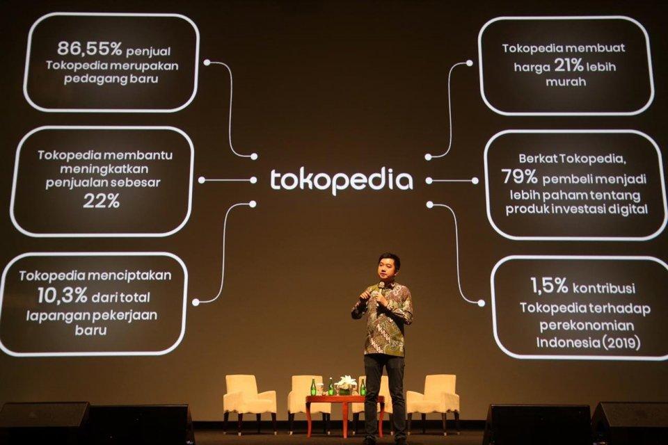 Tokopedia bicara fokus bisnis 10 tahun ke depan, tidak mengandalkan promosi dan membuka pasar seluas-luasnya bagi mitra penjual