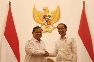 Pertemuan Jokowi-Prabowo di Istana