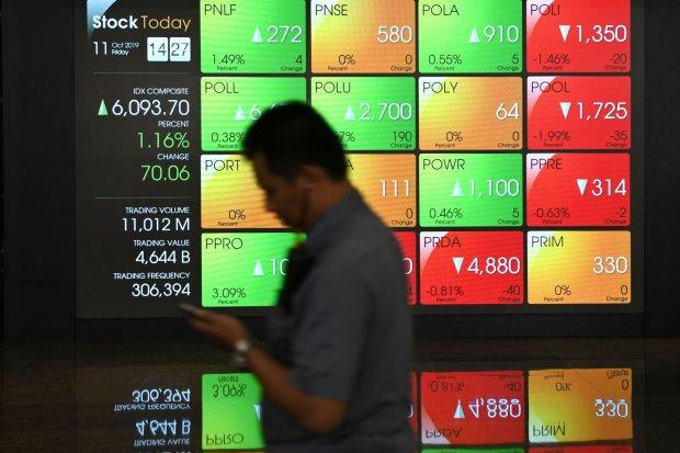 IHSG, IHSG Sesi I, harga saham sektor pertambangan, indeks sektor pertambangan, konflik as-iran