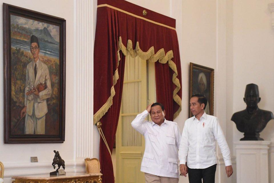 pelantikan presiden, Jokowi, Ma'ruf, Prabowo