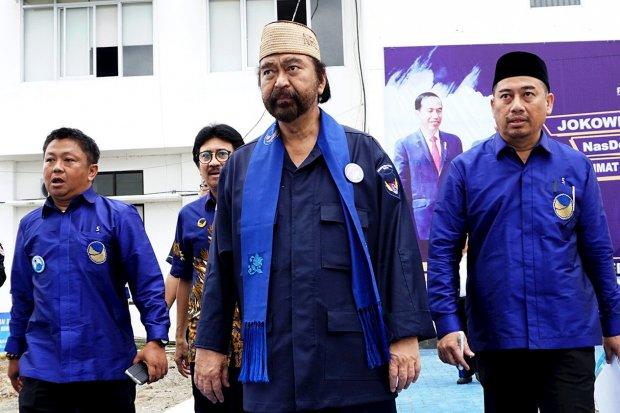 Surya Paloh, Jokowi, Perppu KPK.