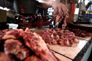 Pedagang Daging