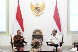 Presiden Jokowi Bertemu Ketua Umum PAN