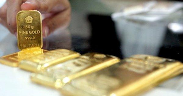 ANTM Harga Emas Antam Rp 772 Ribu/Gram, Tertinggi dalam Sepekan - Berita Katadata.co.id