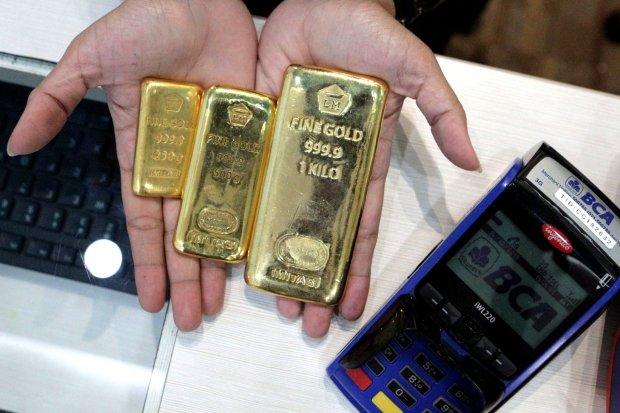 harga emas, harga emas antam, kesepakatan dagang tahap I AS-Tiongkok
