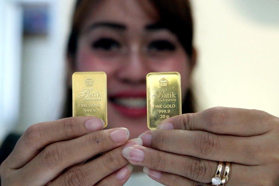 harga emas, virus corona