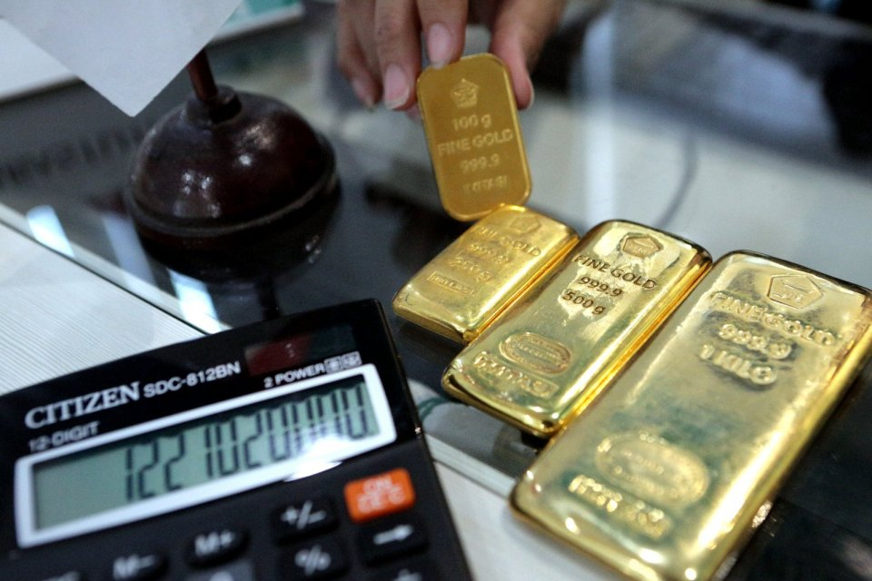 harga emas, emas antam, logam mulia antam, suku bunga, the fed