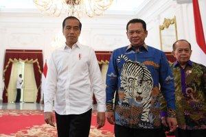 Presiden Bertemu Pimpinan MPR