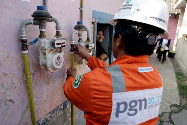 PGN, PGAS, Laba PGN turun, Kinerja Keuangan PGN