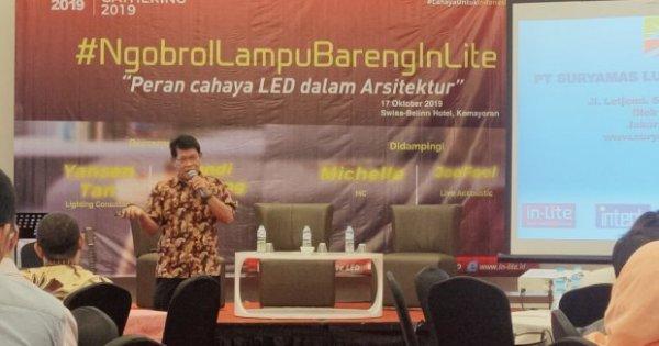 LED Lighting Gathering: Peran Cahaya LED dalam Arsitektur | Katadata News