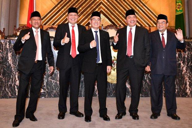 profil anggota BPK, anggota BPK hendra susanto, profil hendra susanto, anggota BPK dilantik