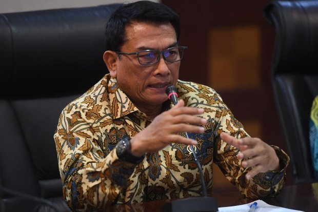 Moeldoko, tawaran menteri, kabinet Jokowi-Ma'ruf, KSP