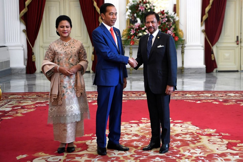 Presiden Jokowi membahas kerja sama ekonomi dengan lima tamu negara sebelum pelantikan