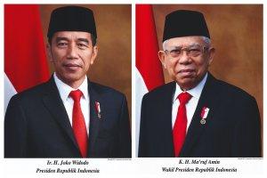 Foto Resmi Jokowi Amin