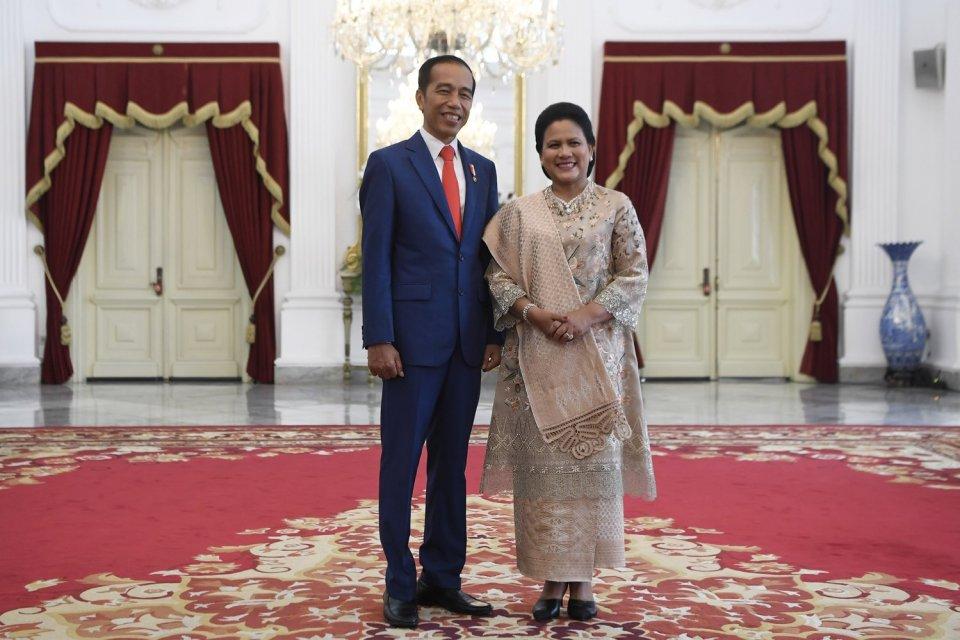 Jokowi mengatakan bakal mengumumkan kabinet periode keduanya besok (21/10) pagi