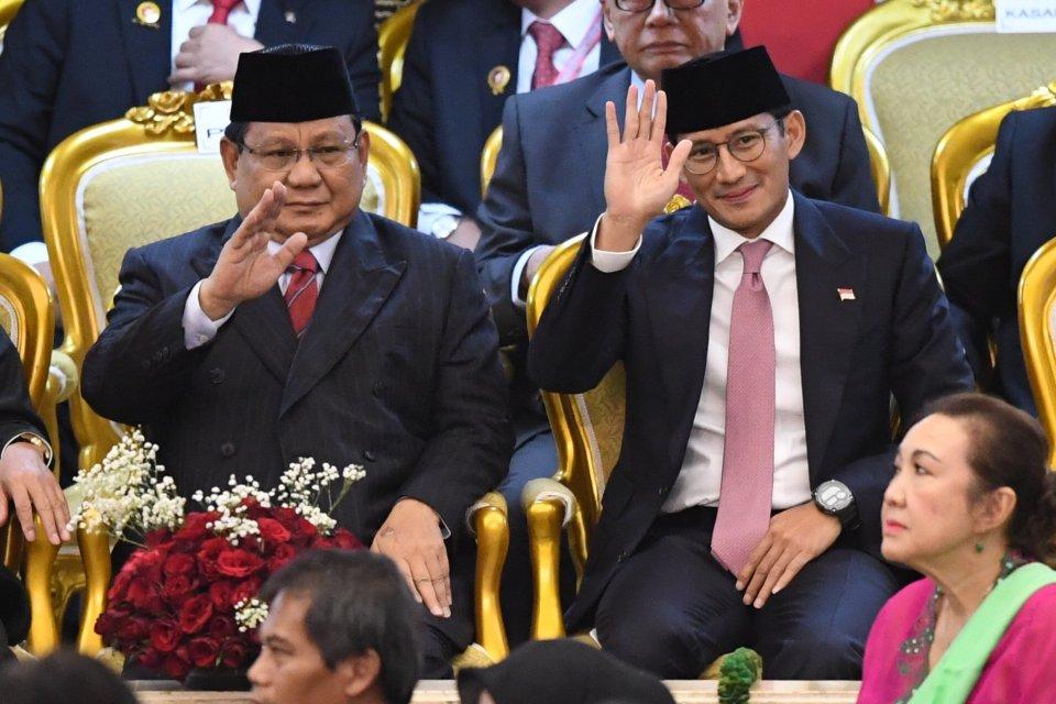 Jokowi, Ahok, Prabowo, Pelantikan.