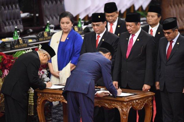 Jokowi, Korupsi, SDM.