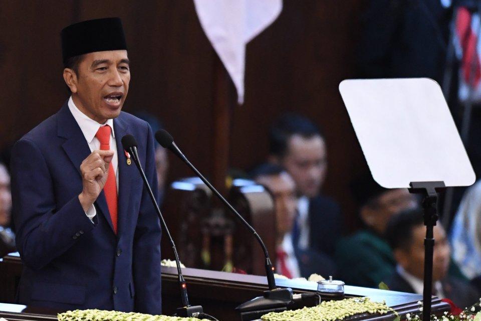 Jokowi, pecat menteri, kabinet