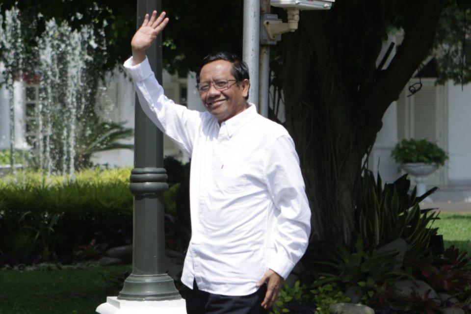 Perppu KPK, Jokowi, Mahfud