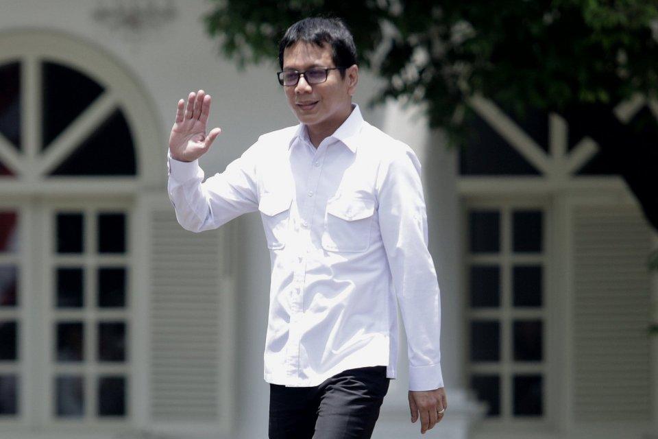 Wshnutama, Erick Thohir, Kabinet, Menteri, Jokowi