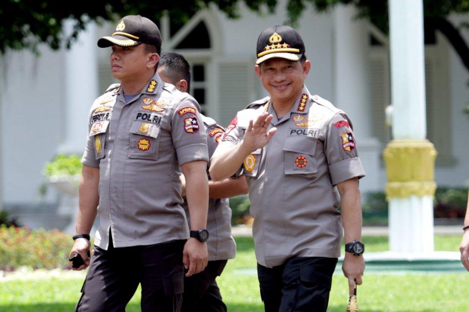Kapolri, kabinet, menteri, Tito Karnavian.