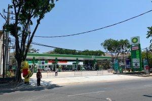 Salah Satu SPBU AKR BP di Surabaya