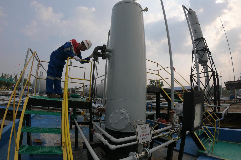eor, sintesis surfaktan, kementerian esdm, pertamina, teknik pengurasan minyak