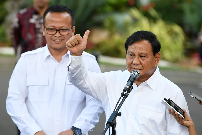 Ketua Umum Partai Gerindra Prabowo Subianto, Wakil Ketua Umum Edhy Prabowo