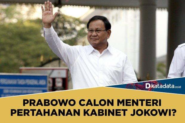 Prabowo calon menteri Jokowi