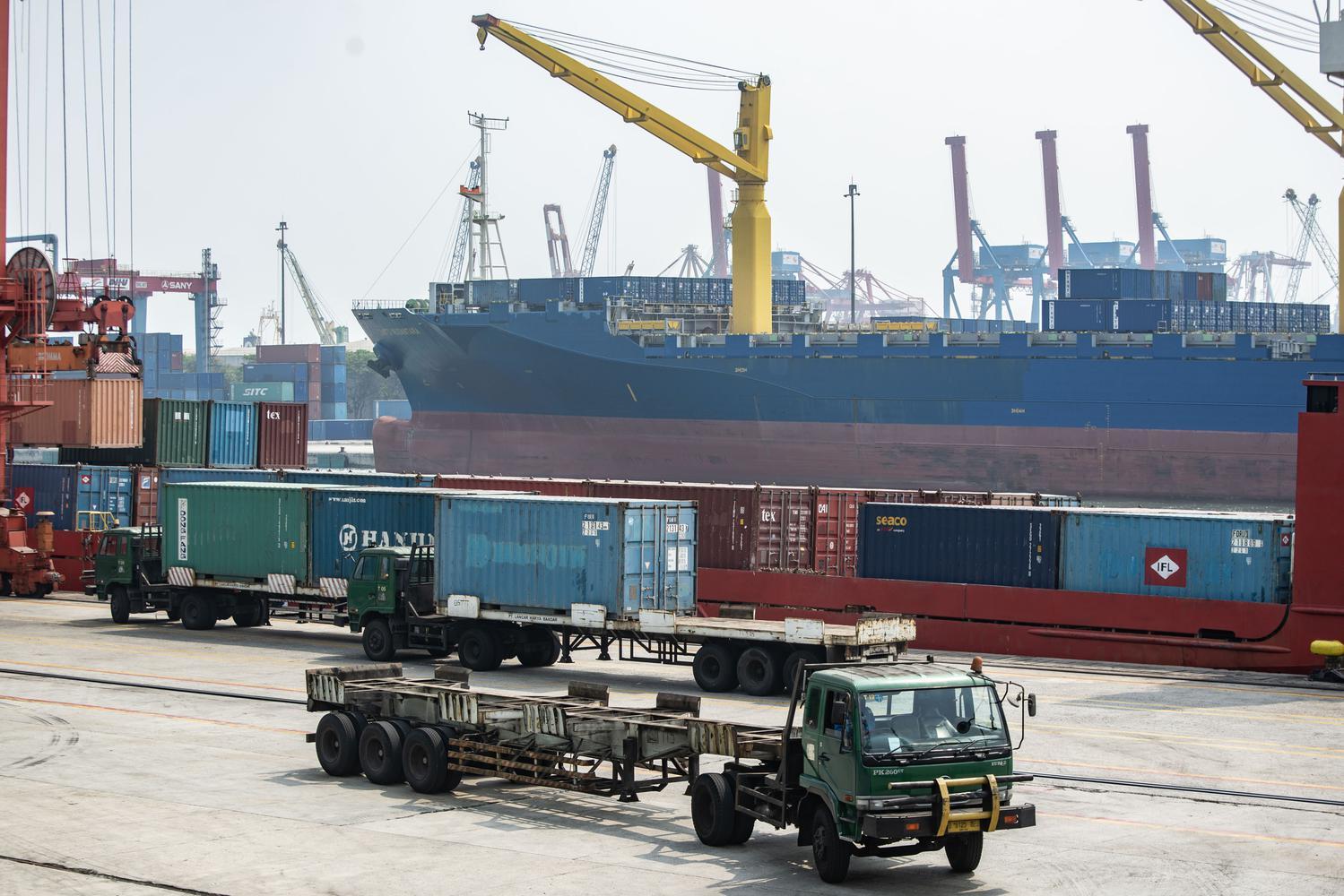 ekspor, impor, neraca perdagangan, defisit neraca perdagangan