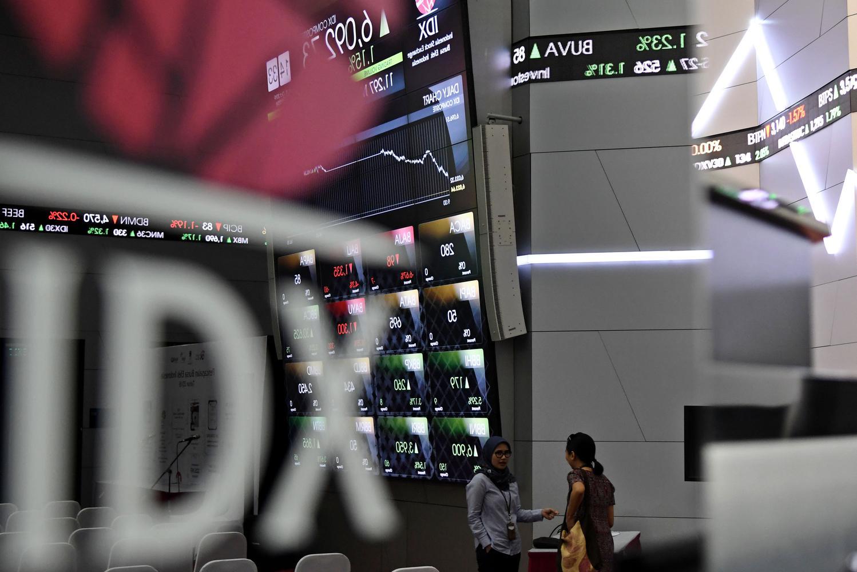 saham, ihsg, indeks saham, psbb, anies baswedan, psbb diki, bursa, bursa efek indonesia