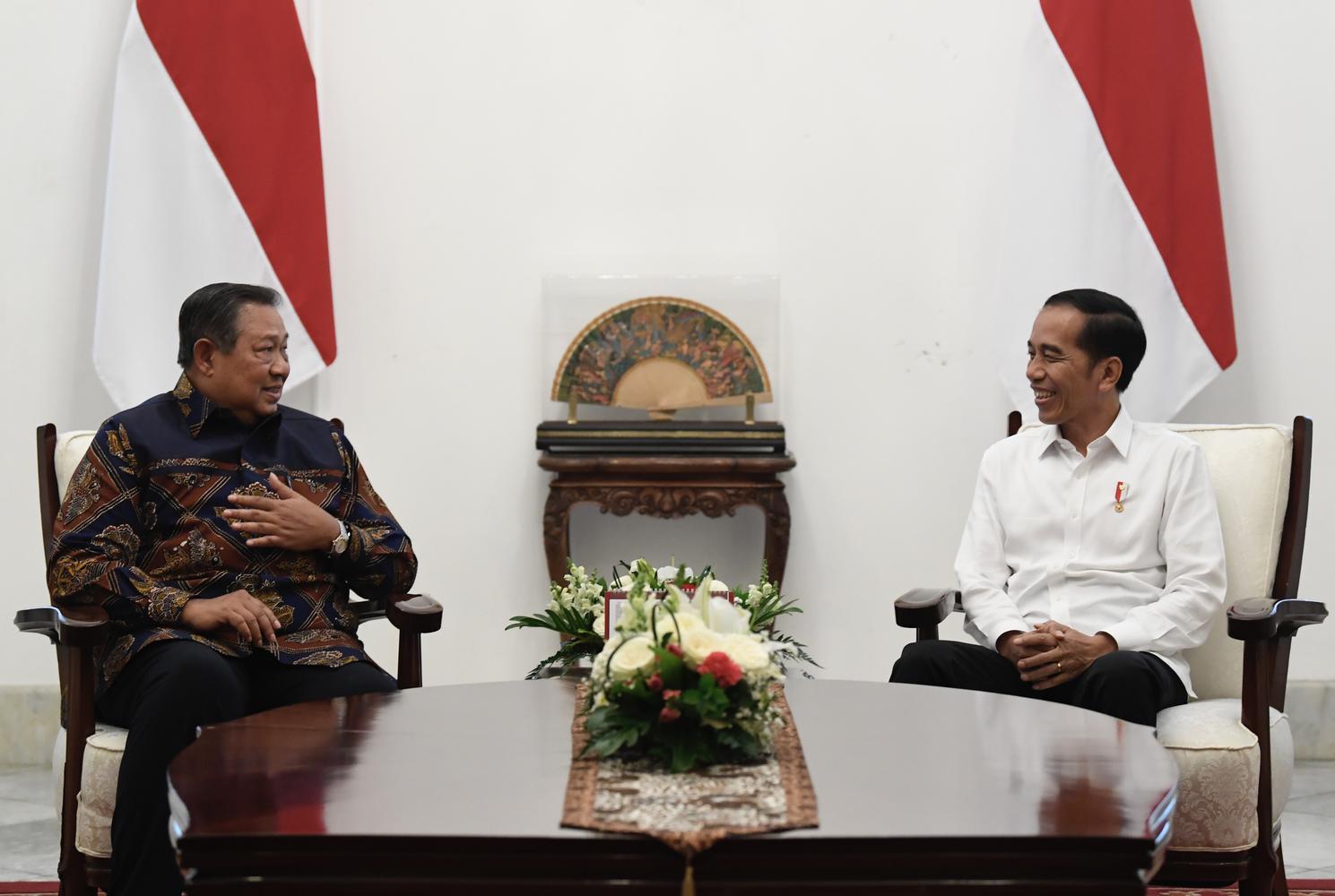 PRESIDEN JOKOWI BERTEMU SBY