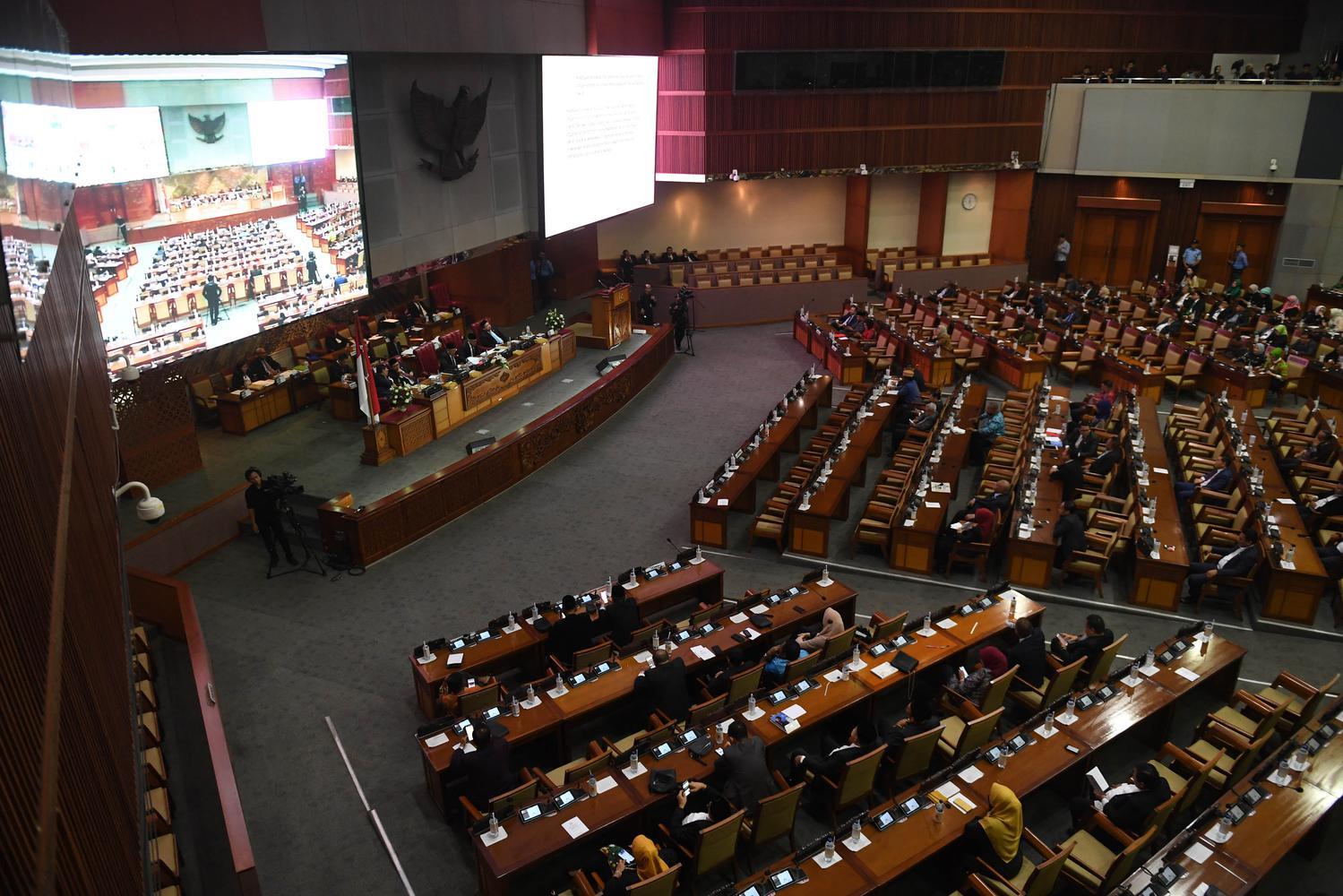 SIDANG PARIPURNA TERAKHIR DPR 2014-2019