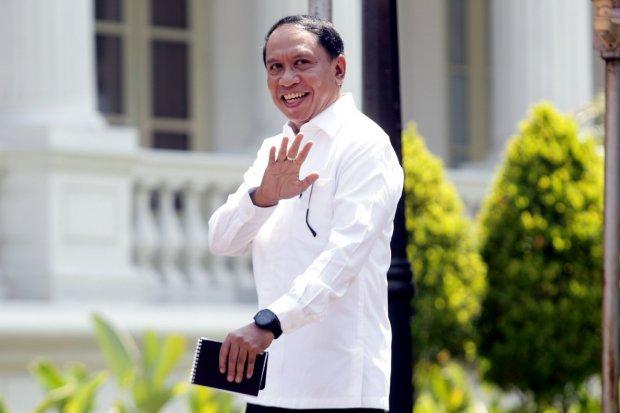Menpora Zainudi, profil Zainudin Amali, kabinet indonesia maju, kabinet Jokowi-Maruf, menteri baru Jokowi