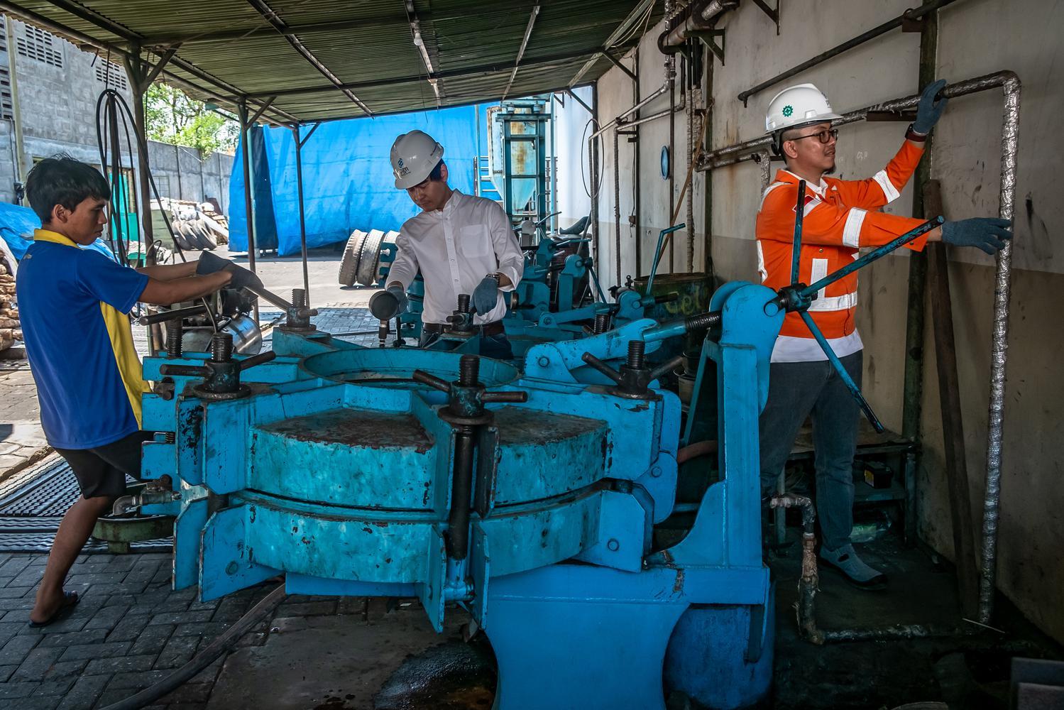 industri, harga gas, Jokowi, sumur gas