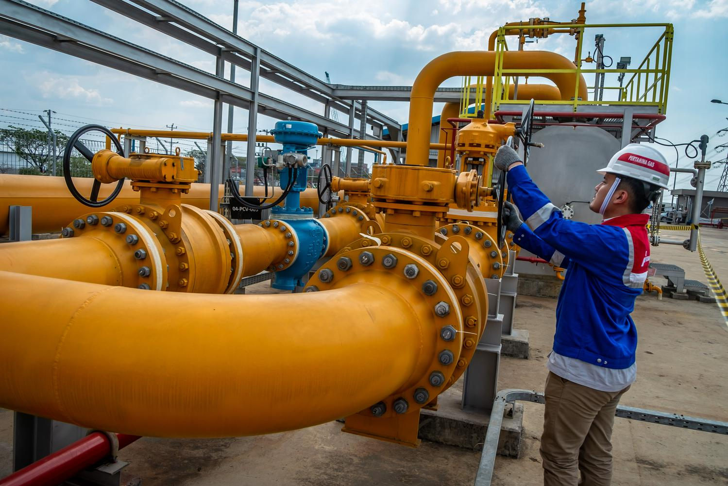 cadangan gas, infrastruktur gas, target produksi gas, iatmi