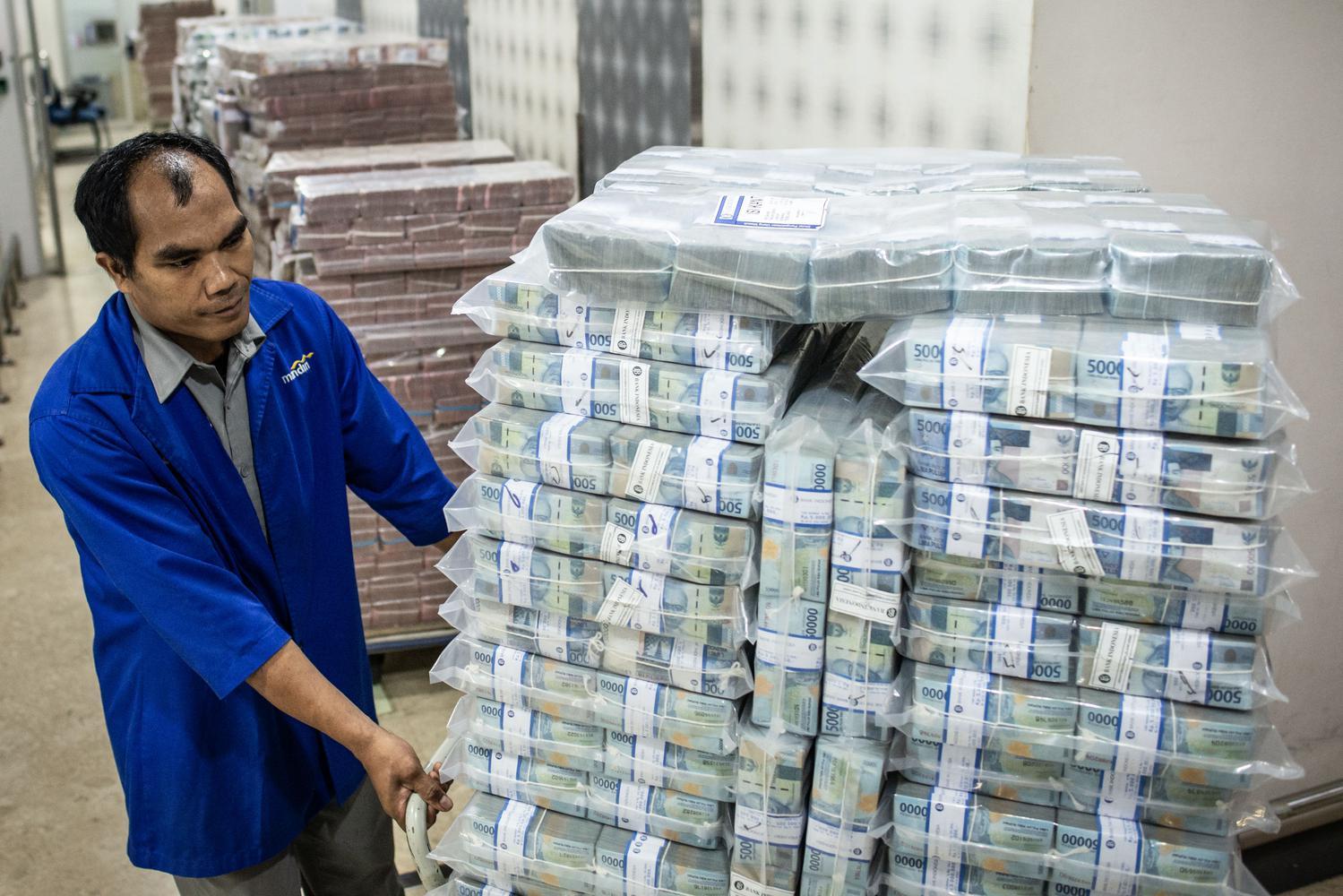 virus corona, bank indonesia, uang