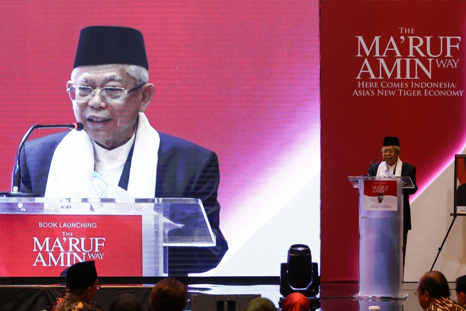 Tingkat Kemiskinan, Maruf Amin