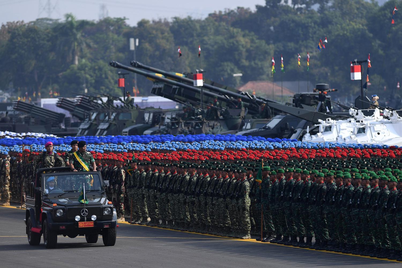 Jokowi, TNI