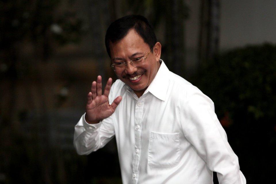 Kepala Rumah Sakit Pusat Angkatan Darat Gatot Soebroto Dokter Terawan Agus Putranto resmi diangkat Presiden Joko Widodo sebagai menteri kesehatan periode 2019-2024.