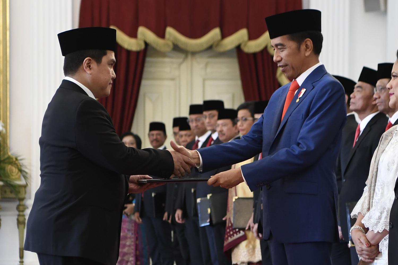 Jokowi, Erick Thohir