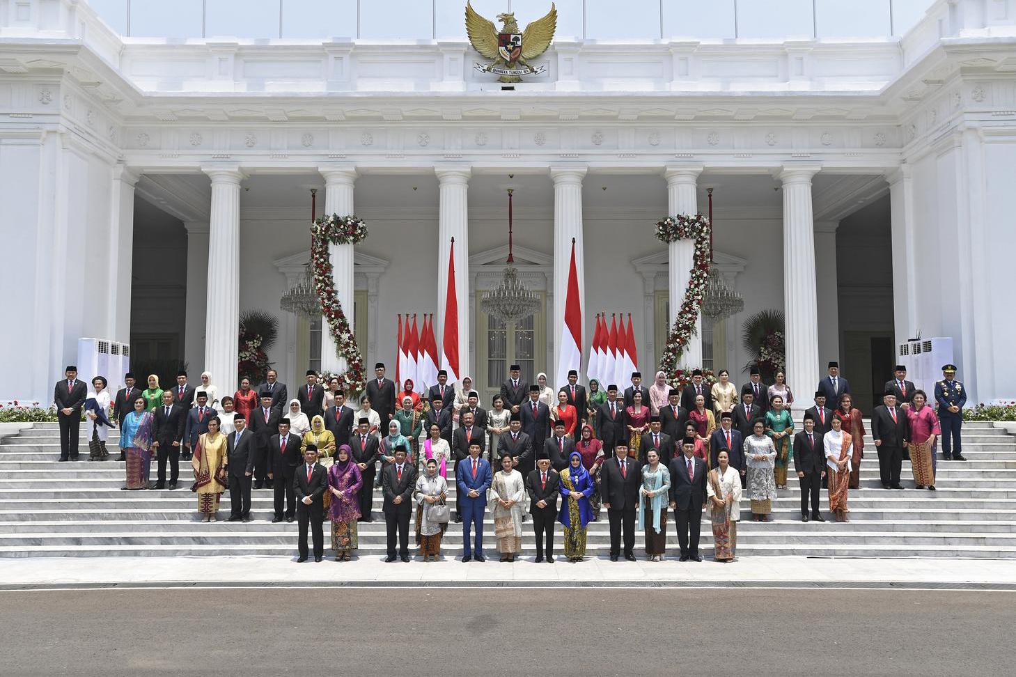 jokowi, ma'ruf amin, kabinet indonesia maju